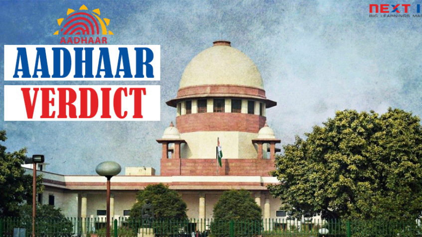 Is Aadhaar Constitutional? Supreme Court's Verdict On Aadhaar