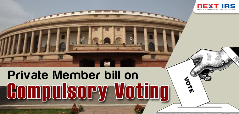 Private member Bill on Compulsory Voting